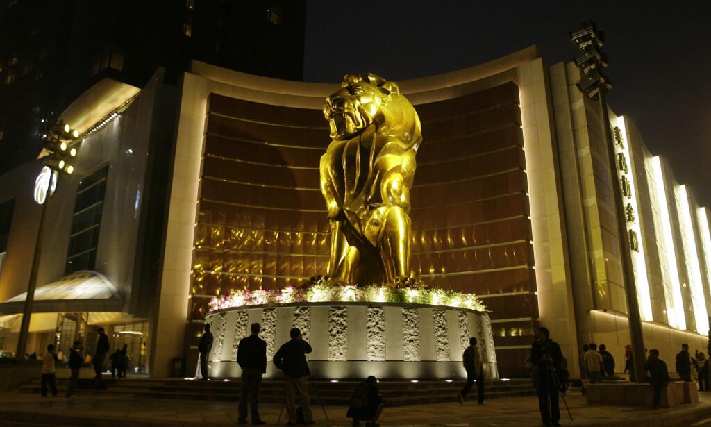 HACKET: Hotellkjeden MGM resorts har havnet midt i en skandale som omfatter gjestene deres, etter at personlige opplysninger om 10,6 millioner gjester har havnet på avveie. Her er MGM Grand Macau. Foto: Vincent Yu / AP / NTB Scanpix