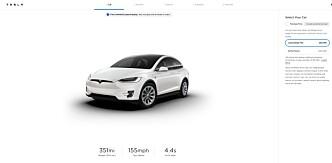 <strong>PLUS-ORD:</strong> På de amerikanske Tesla-sidene har de såkalte «Long Range»-versjonene av de to modellene blitt omdøpt «Long Range Plus». På de norske sidene er alt som før.