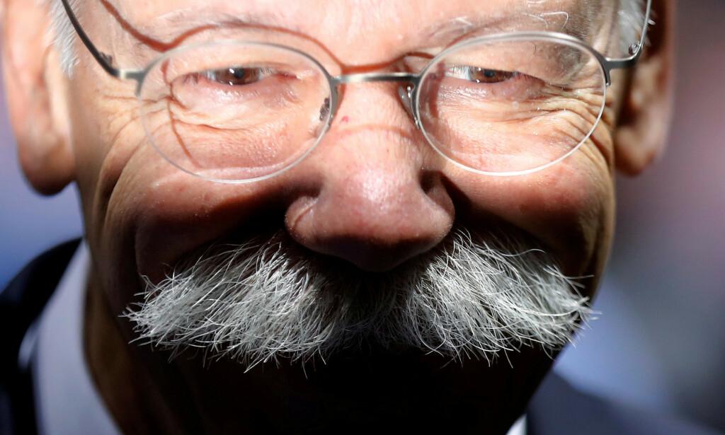 «Doktor Z»: Daimlers tidligere styreleder Dieter Zetsche kan snart gjøre comeback i selskapet. Foto: Hannibal Hanschke / Reuters / NTB Scanpix