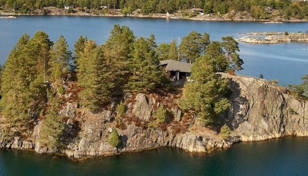 Dumper prisen for privat øy