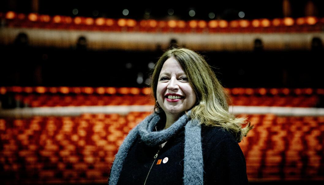 FANTASTISK JOBB: Ingebjørg Kosmo fikk drømmejobben tidlig. Hun tenkte ikke på at yrket hadde en tidlig pensjonsalder. Foto: Nina Hansen/Dagbladet