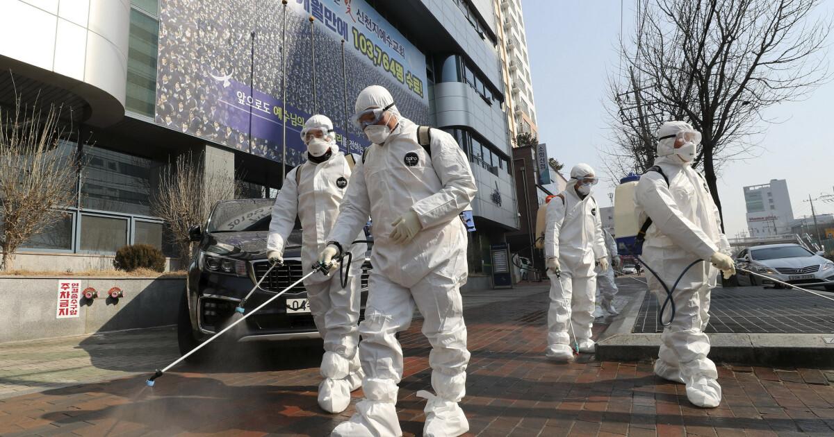 Superspreder i sørkoreansk sekt