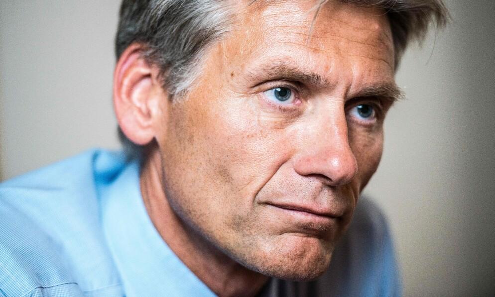 GIGANTBELØP: Tidligere Danske Bank-toppsjef Thomas Borgen er blitt saksøkt personlig for like under 3,7 milliarder kroner. Foto: NTB Scanpix