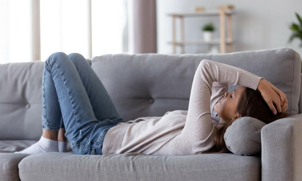 UTMATTELSE: Sykdommen kjennetegnes av utmattelse. Foto: Shutterstock / NTB Scanpix
