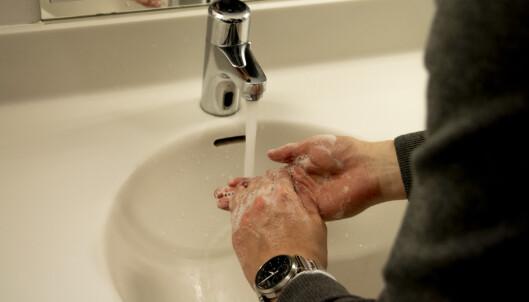 Sprit er ikke håndvask