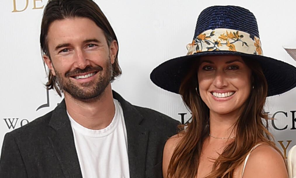 <strong>BABYLYKKE:</strong> Brandon Jenner og kona Cayley Stoker skal ha fått tvillinggutter denne uken. Foto: NTB Scanpix