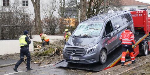 image: Tre blåste over taxi i Oslo