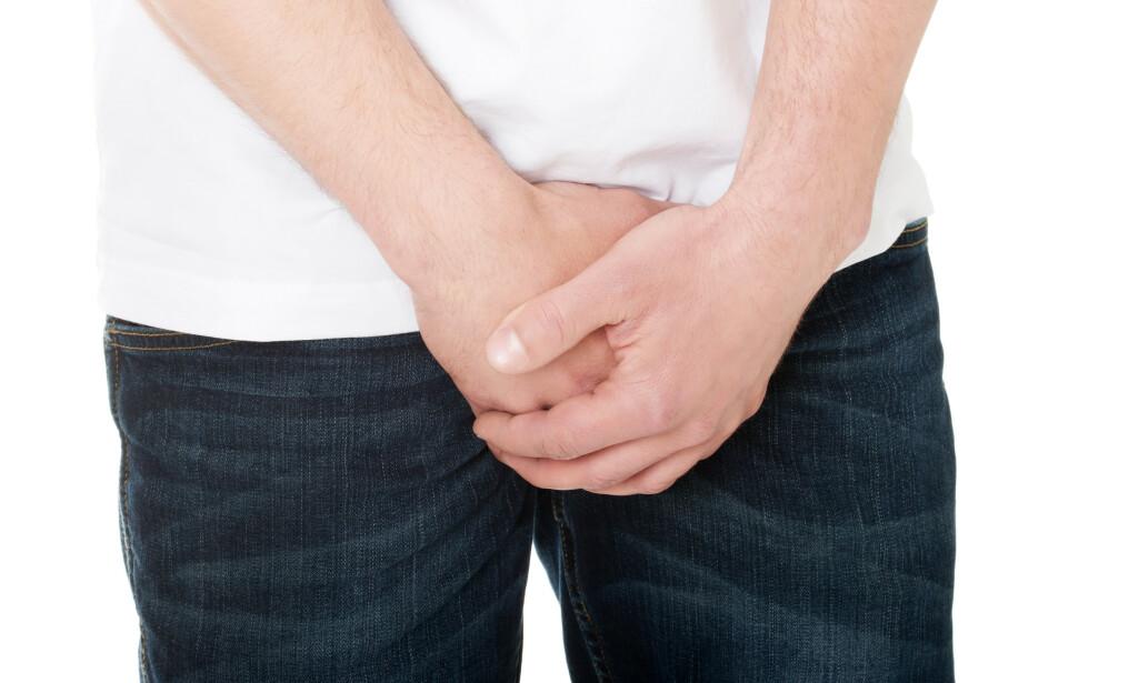 MIKROPENIS: De største problemene knyttet til mikropenis, sitter som regel i hodet til mannen. Foto: Shutterstock/NTB Scanpix