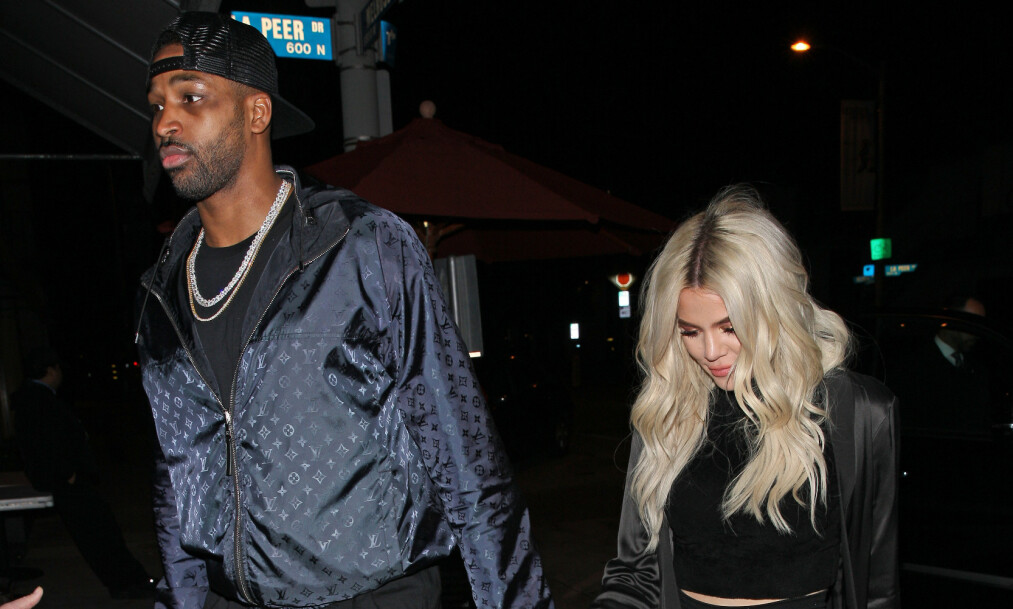 UTROSKAPSSKANDALE : Khloé Kardashian forteller åpenhjertig om hva hun egentlig synes om ekskjæresten Tristan Thompson. Foto: NTB Scanpix