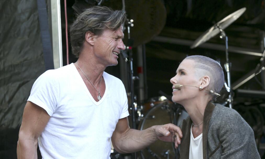 <strong>GODE VENNER:</strong> Selv om Petter og Gunhild Stordalen har flyttet fra hverandre har de beholdt det gode vennskapet. Foto: NTB Scanpix