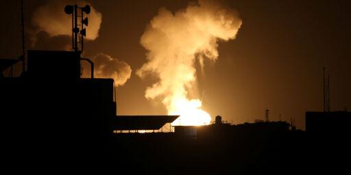 image: Israel bomber Gaza