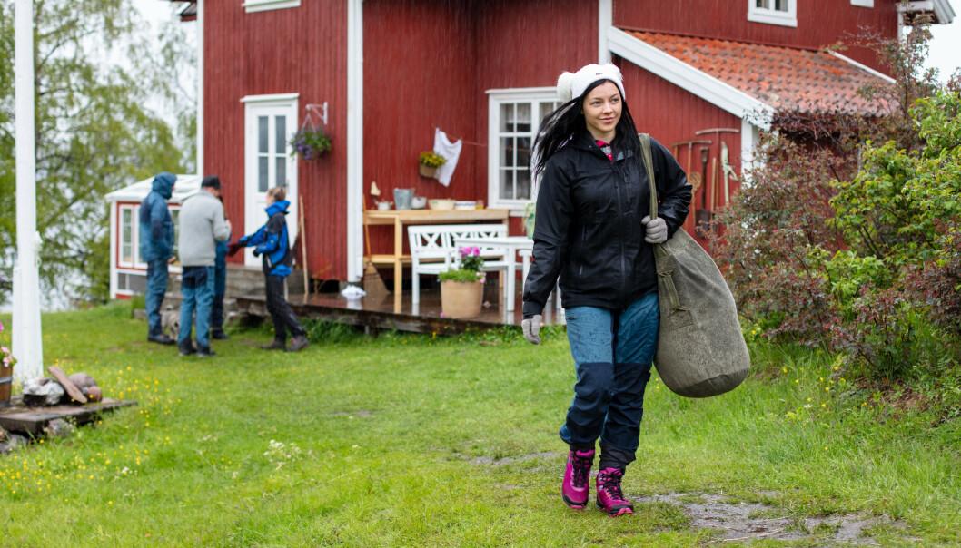 <strong>- SAVN:</strong> Bakken forteller i programmet at hun savnet både kjæresten sin og normal mat. Foto: Alex Iversen / TV 2