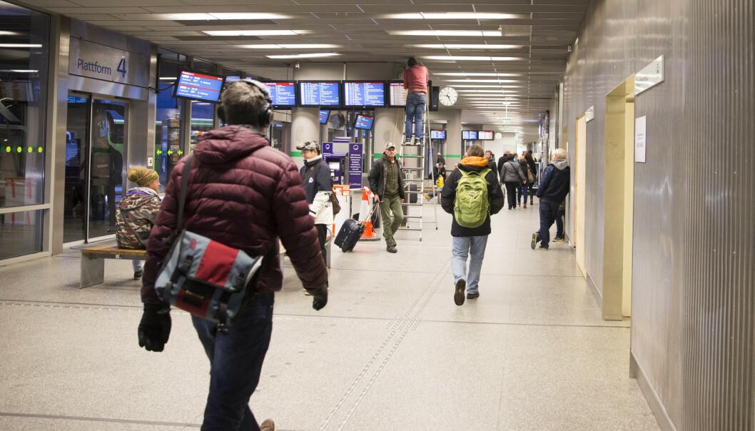 <strong>FLERE REISENDE:</strong> Trafikken ved Oslo bussterminal viser en økning på 2,4 prosent for fjoråret sammenlignet med 2018. Det utgjør en økning i antall passasjerer på nær 600.000. Foto: Håkon Mosvold Larsen / NTB scanpix