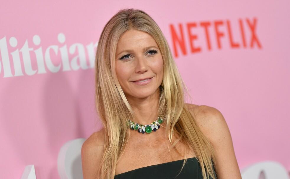 VELKOMMEN INN: Skuespiller og «livsstilsguru» Gwyneth Paltrow inviterte til sminkefri jentekveld. Foto: NTB Scanpix
