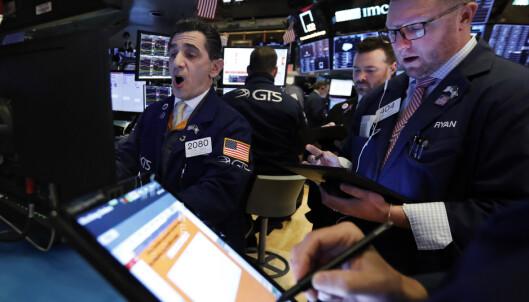 Virus senket Wall Street