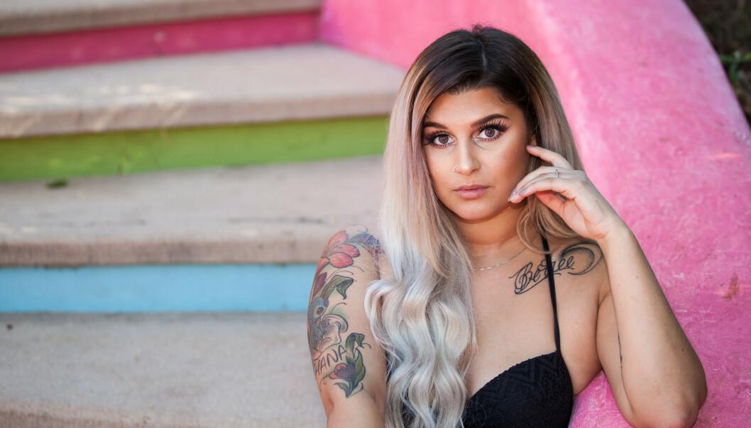 <strong>KLAR FOR EROTIKK:</strong> Sania Smestad (24) har ingen motforestillinger til sex på tv. Foto. Roy Darvik/TV3