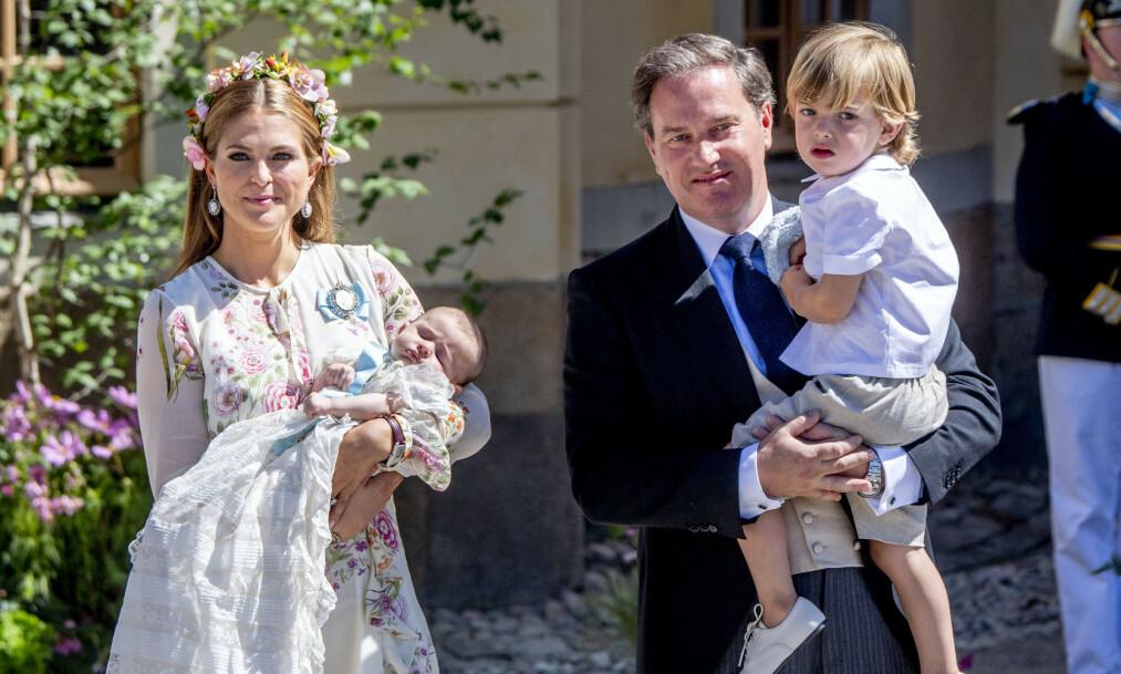 <strong>KJØPT HUS:</strong> Prinsesse Madeleine og Christopher O'Neill har angivelig gått til innkjøp av en ny luksusvilla i Florida. Foto: NTB scanpix