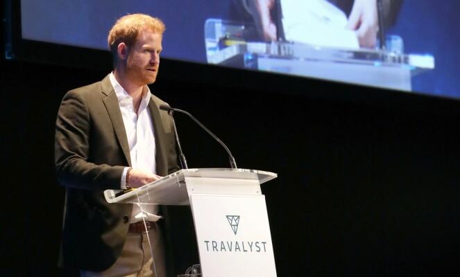 TILBAKE: Prins Harry er for tiden i Skottland, etter et lengre opphold i Canada. Foto: NTB Scanpix