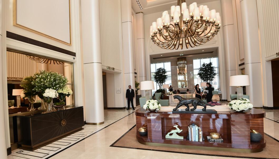 <strong>LUKSUS:</strong> Hilton skal ha brukt ufine metoder i forbindelse med åpningen av Waldorf Astoria Hotel i Beverly Hills. Det hevder i alle fall konkurrenten The Peninsula Bevery Hills, som saksøker hotellet for industrispionasje. FOTO: Rob Latour / Variety / REX / NTB scanpix
