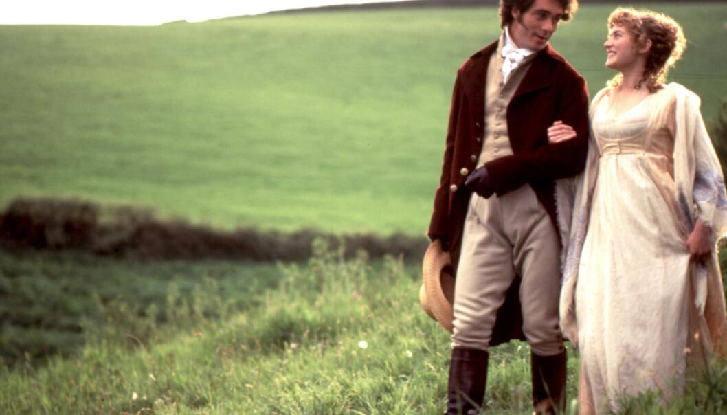 Kate Winslet fikk hjertet knust av kjekkasen i «Fornuft og følelser». FOTO: Moviestore/REX