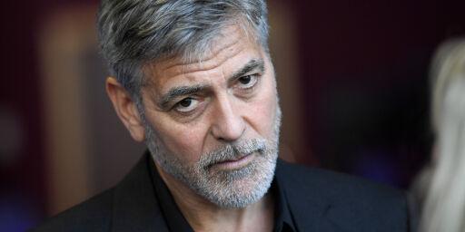 image: George Clooney rystet
