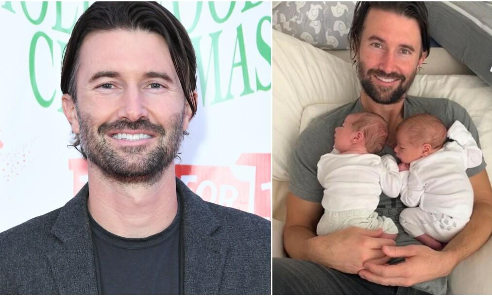 <strong>DOBBEL LYKKE:</strong> Brandon Jenner ble pappa til tvillinger forrige uke. Foto: NTB scanpix/ Skjermdump fra Instagram
