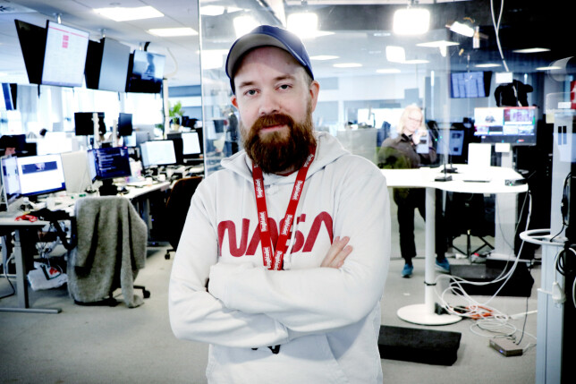 Synes du Tor Henning Ueland er et kjent navn? Kanskje du har sett det blant byline-ene til artikler i både Dagbladet og her på kode24 - blant annet knakk han PST sin jobbannonsegåte i høst. 📸: Ole Petter Baugerød Stokke