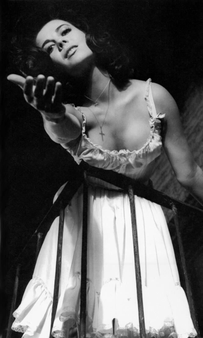 """<strong>STORFILM:</strong> Natalie Wood spilte i en rekke storfilmer fra hun var ganske ung. Her som Maria i megasuksessen """"West Side Story"""" fra 1961. Filmen fikk ti Oscars året etter. FOTO: NTB Scanpix"""