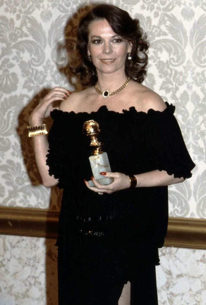"""<strong>KARRIERE:</strong> I 1980 mottok Natalie Wood Golden Globe for hovedrollen i tv-serien """"Herfra til evigheten"""". FOTO: NTB Scanpix"""