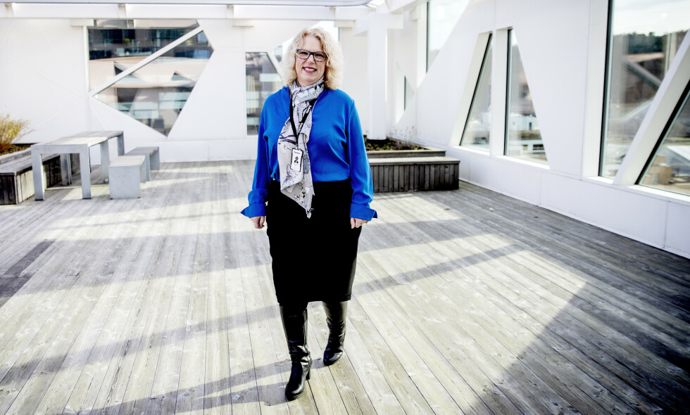 ÅPEN: Nina Kristine Østlund forteller om en tabubelagt sykdom, Lipødem, og hvordan hun håndterte den: - I dag har jeg det veldig fint, men jeg har fortsatt angst for at sykdommen utvikler seg igjen. Foto: Bjørn Langsem