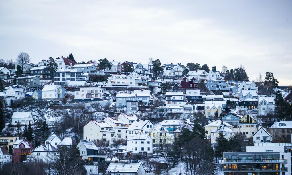 PRISVEKST: Boligpris-statistikken for februar er lagt fram. Foto: Håkon Mosvold Larsen / NTB scanpix