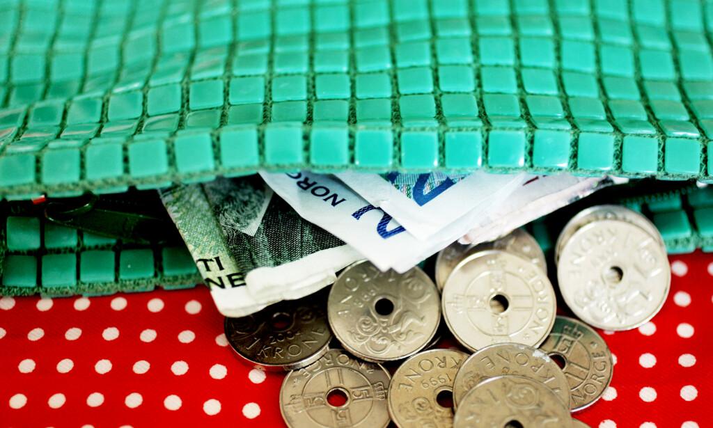 SVAKT: Krona har aldri vært svakere mot euroen. Foto: Sara Johannessen / SCANPIX