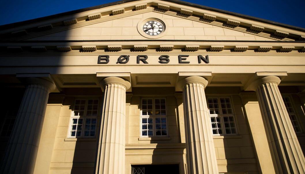 <strong>NETTSIDER:</strong> Det er problemer med nettsidene til Oslo Børs. Foto: Håkon Mosvold Larsen / NTB scanpix