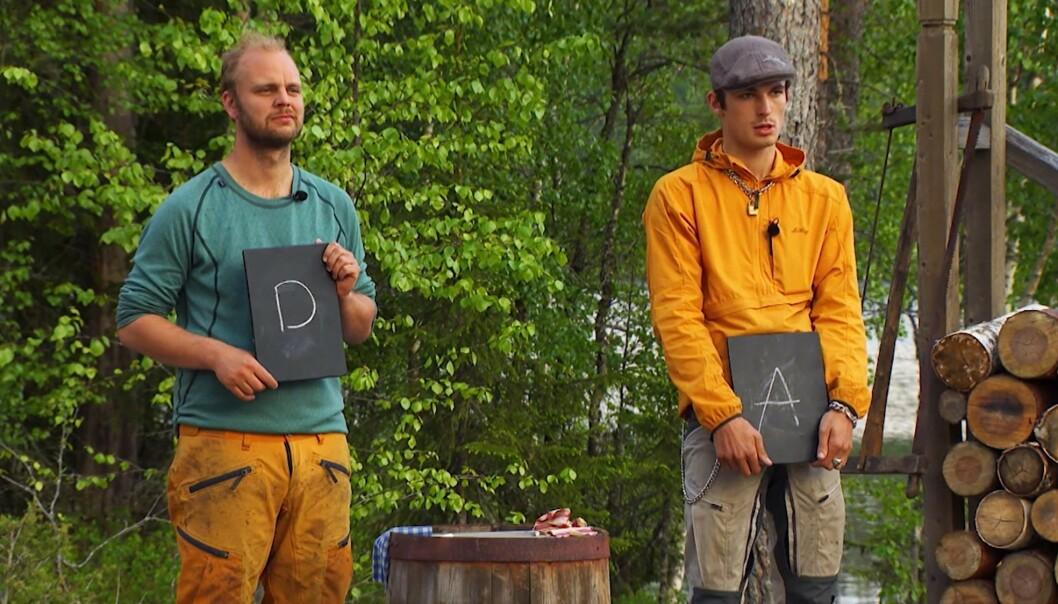 <strong>KUNNSKAP:</strong> Sellevoll tapte etter at Kristjánsson valgte kunnskap som grein i tvekampen. Foto: TV 2