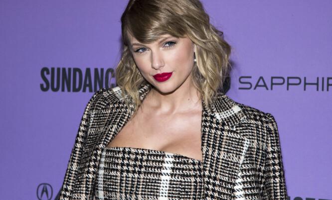 VEKKER OPPSIKT: I musikkvideoen til «The man» får vi se en mannlig utgave av Taylor Swift. FOTO: Scanpix