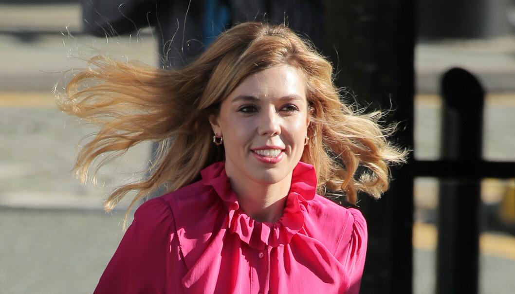 <strong>BLIR MOR:</strong> Carrie Symonds skal bli mor for første gang. Foto: NTB Scanpix