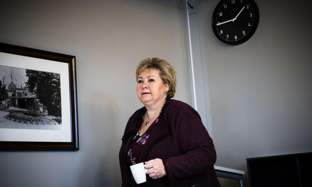 image: Solberg vil gi politiet nytt våpen i kamp mot overgrep