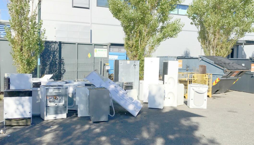 <strong>STRAFFBART:</strong> Nå skal søppelsmuglingen fra returmottakene stoppes. Foto: Miljødirektoratet