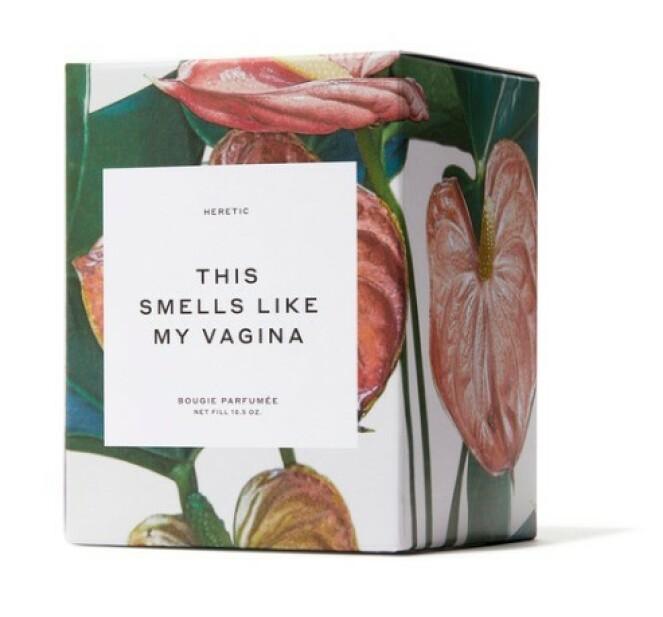<strong>VAGINADUFTLYS:</strong> Dette duftlyset til Gwyneth Paltrow koster hele 750 kroner og ble ustolgt idet det kom i butikk. Foto: Goop