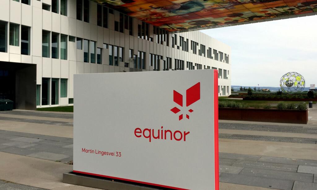 NYTT FUNN: Equinor har gjort sitt første oljefunn på norsk sokkel i Nordsjøen i år. Foto: Nerijus Adomaitis / Reuters / NTB Scanpix