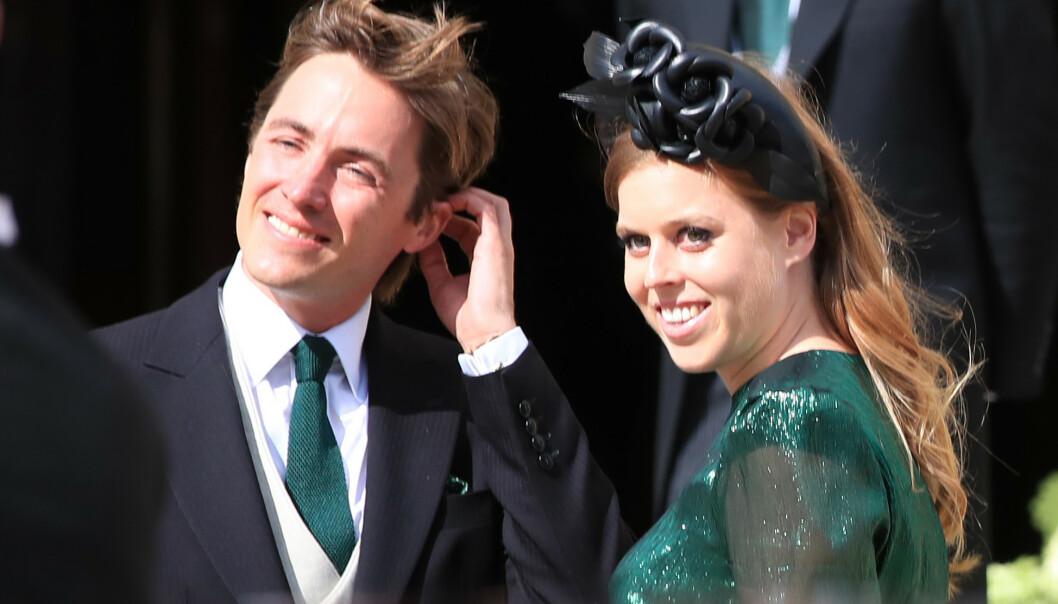 <strong>FÅR SPESIELL TITTEL:</strong> Når prinsesse Beatrice gifter seg med Edoardo Mapelli Mozzi i mai, får hun også en splitter ny tittel. Foto: NTB Scanpix