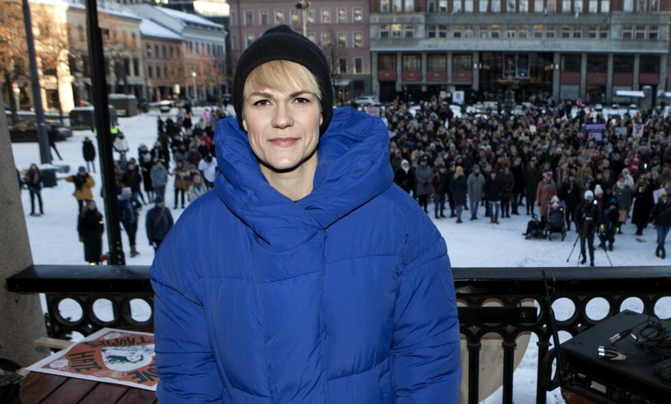 HUDKREFT: Sigrid Bonde Tusvik har en ondartet svulst i en føflekk, forteller hun i en ny podkast-episode. Foto: Anders Grønneberg / Dagbladet