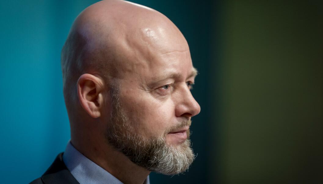 <strong>SOLGTE SEG UT:</strong> Oljefond-sjef Yngve Slyngstad trakk seg ut av 28 selskaper av klimahensyn i fjor. Foto: Heiko Junge / NTB scanpix