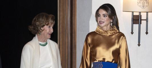 Dronning Sonja vekker oppsikt i utlandet