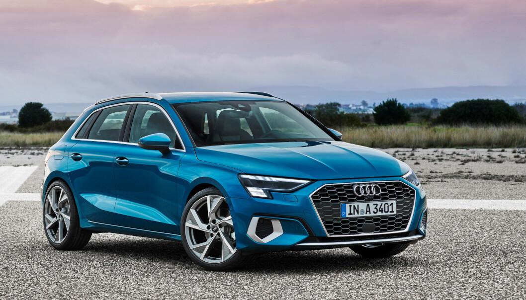 <strong>«SVÆR I KJEFTEN»:</strong> Designen gjør den mer snerten enn tidligere modeller. Foto: Audi