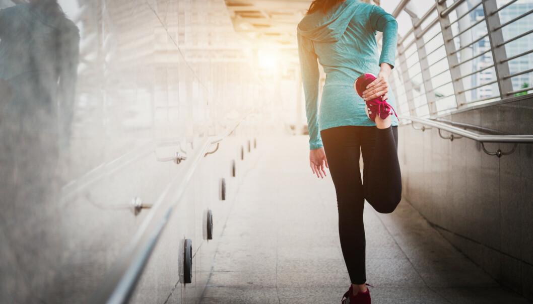 <strong>RUMPEMUSKELEN MÅ BRUKES:</strong> - Hvis ikke kan du få vondt andre steder, som i rygg og nakke, mener ekspertene. FOTO: NTB Scanpix