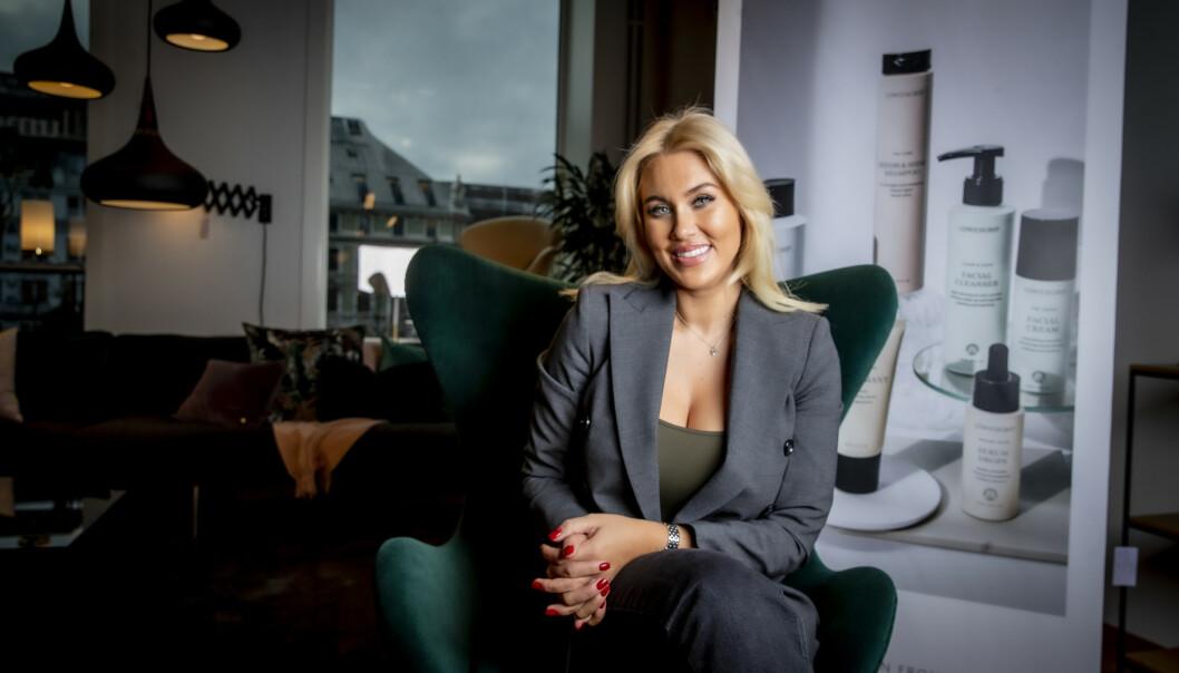 <strong>SOLGTE FIRMAET:</strong> I februar solgte Löwengrip livsverket sitt til norske Dermanordic. Nå kommer det fram at influenserens tidligere selskap har blitt stevnet for ubetalte fakturaer. Foto: Bjørn Langsem / Dagbladet