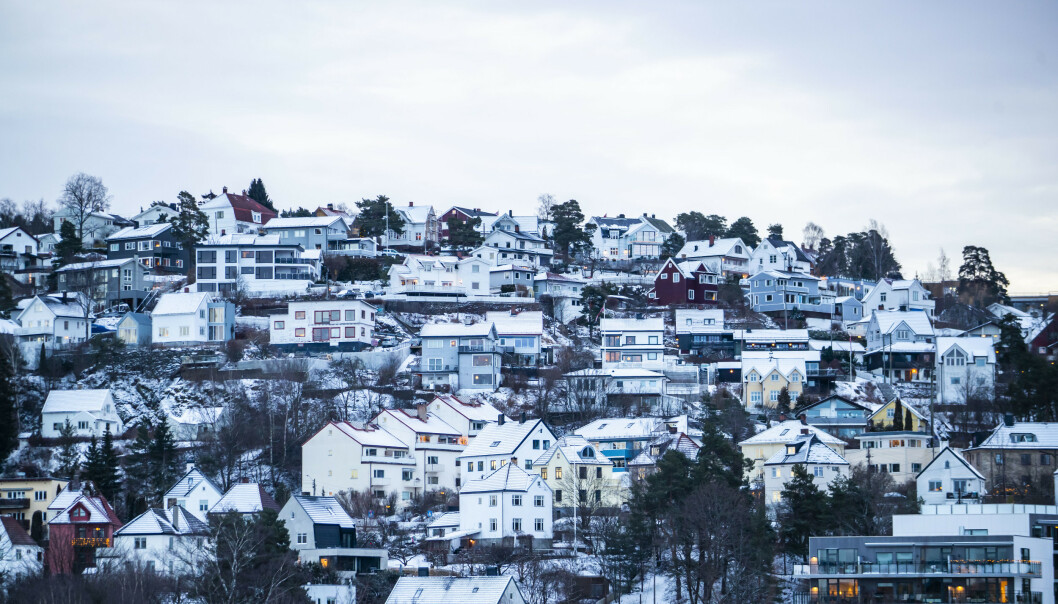 <strong>GOD MÅNED:</strong> Veksten i antall omsetninger fortsetter i februar, og det er ny omsetningsrekord til denne måneden å være, viser ferske tall fra Eiendom Norge. Foto: Håkon Mosvold Larsen/NTB Scanpix.