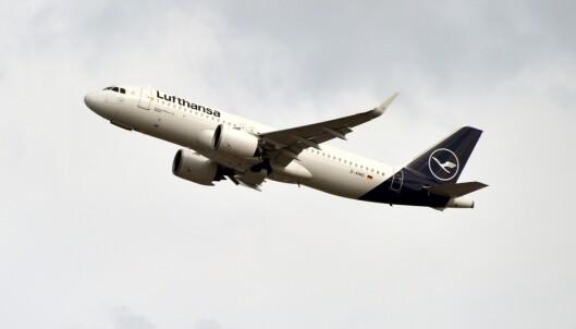 Lufthansa setter 150 fly på bakken