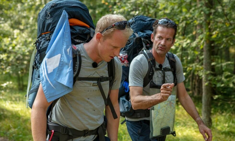 GODE VENNER: Erik Follestad og Jon Almaas møtte hverandre under innspilling, og ble gode venner. De har derimot ikke tid til hverandre i hverdagen. Foto: Matti Bernitz, Discovery
